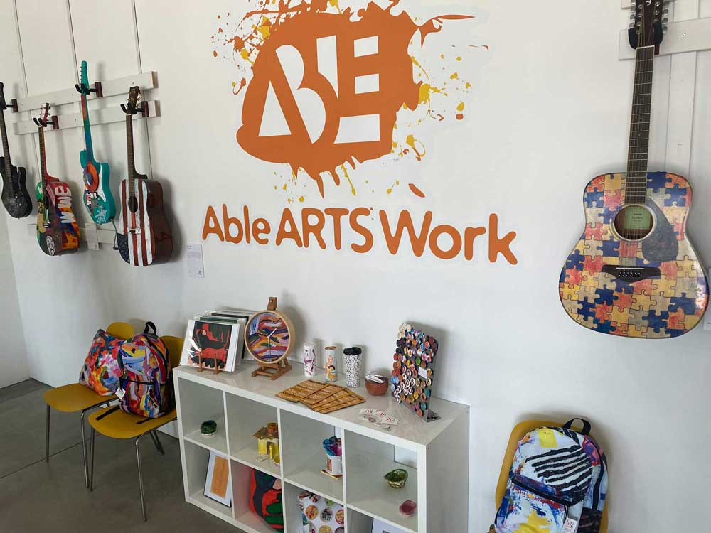 Able Arts Work display